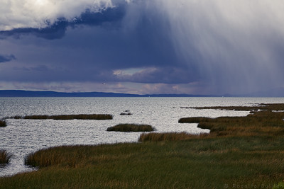 Storm Over Lake Titicaca
