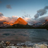 Mt. Grinnell in Glacier National Park