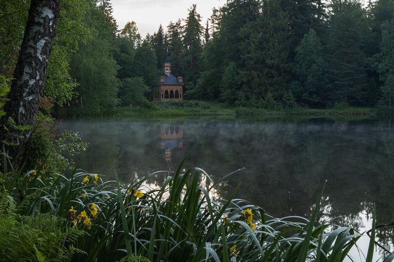 Lake at the Aulanko nature reserve