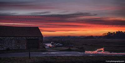 Coal Shed at Thornham Creek at Thornam