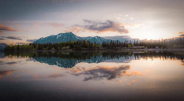 Taken at Kathleen Lake, Kluane National Park