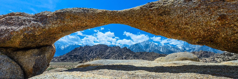 Mount Whitney as Seen Through Laser Arch