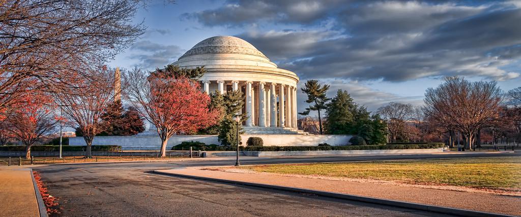 Jefferson Memorial--South View