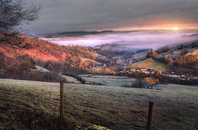 Glowing Landscape - Wales