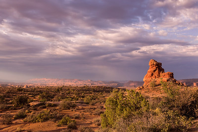 Return - Arches National Park in Utah