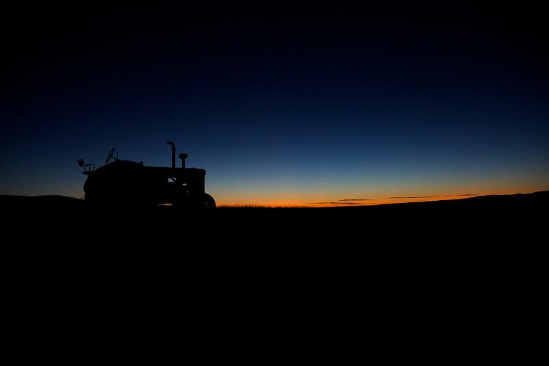 Tractor #1.  Montana Dawn.