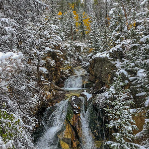 Prelude to Winter, Angel Falls, CO