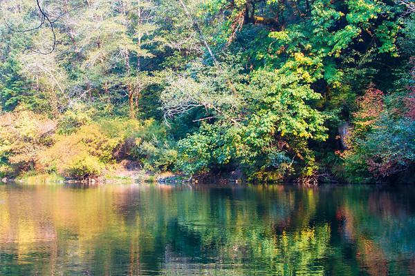 Hunter Creek swimming hole