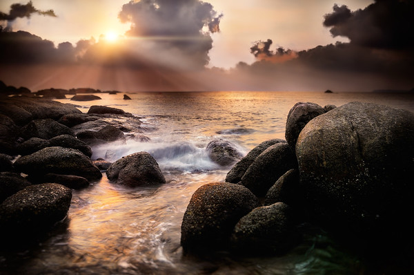 Sunset Over Goa