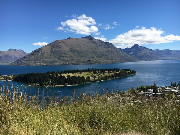 Mountains & Lake, Queenstown, South Island, New Zealand