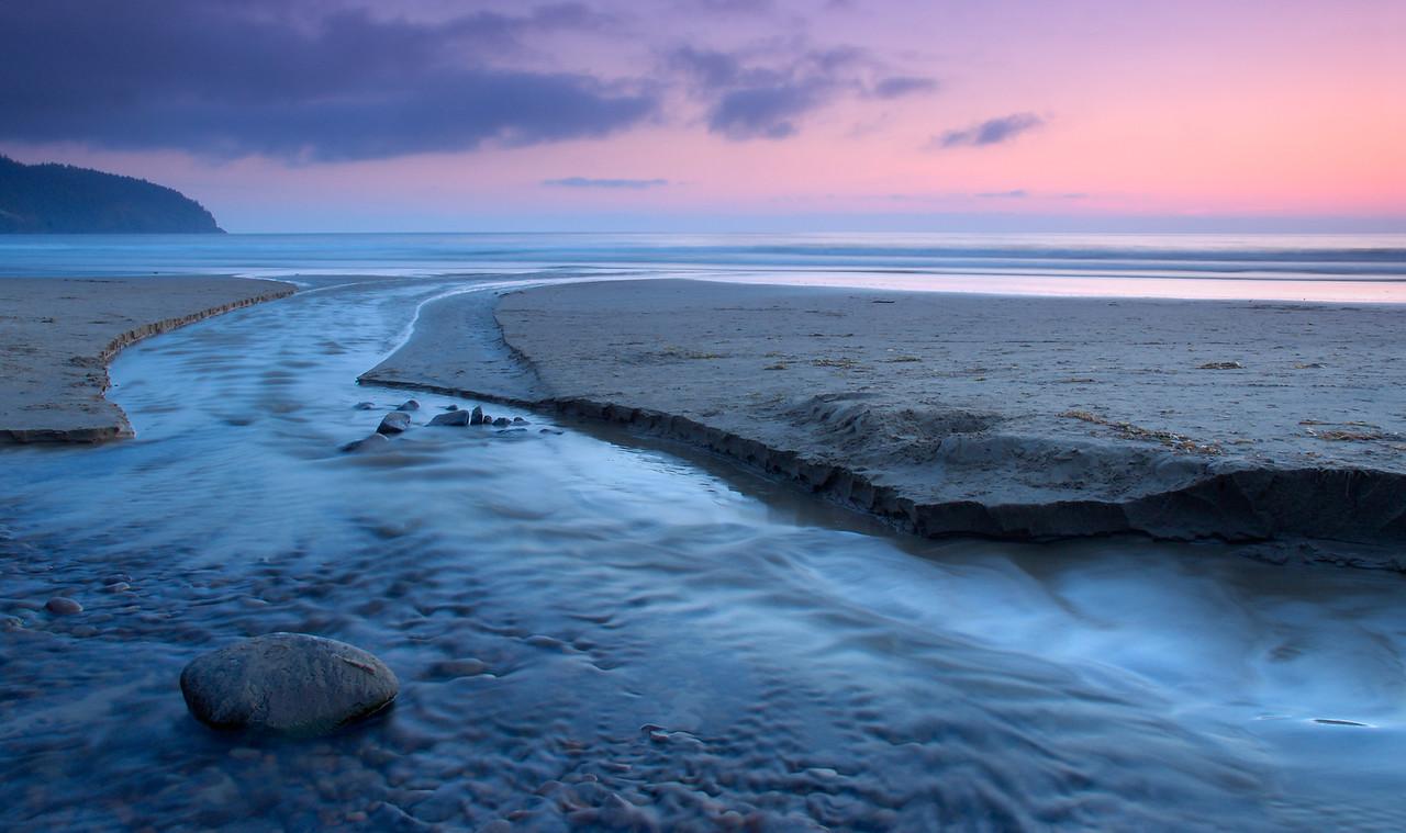 Cape Lookout State Park at Dusk – Oregon Coast