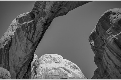 Double Arch in B&W