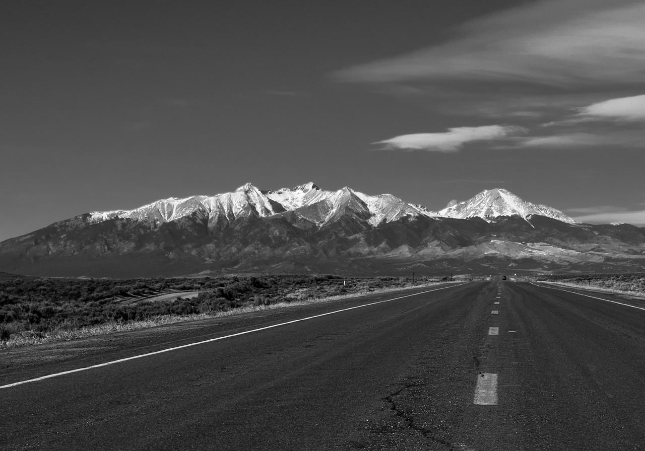 Blanca Peak, Little Bear, and Mt. Lindsey