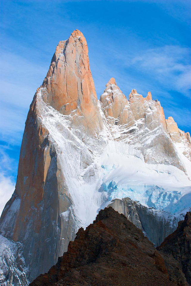 Aguja Poincenot – Los Glaciares National Park, Patagonia, Argentina