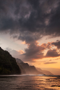 Na Pali Sunset