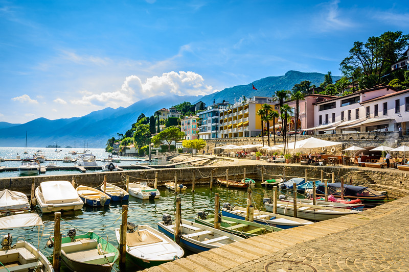 Ascona waterfront