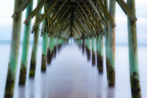 Jan 27 - The Dream<br /> <br /> Long exposure with a 10 stop ND filter - Surf City pier, North Carolina
