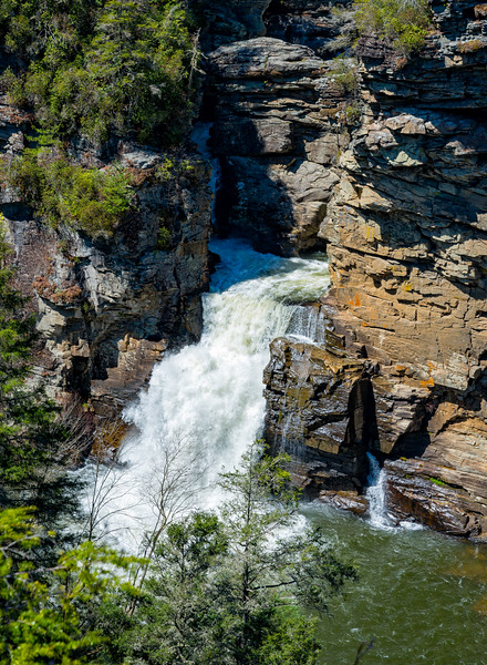 Linville Falls - Linville Gorge Wilderness - NC-4
