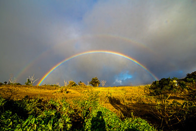 Rainbow over Kula, Maui