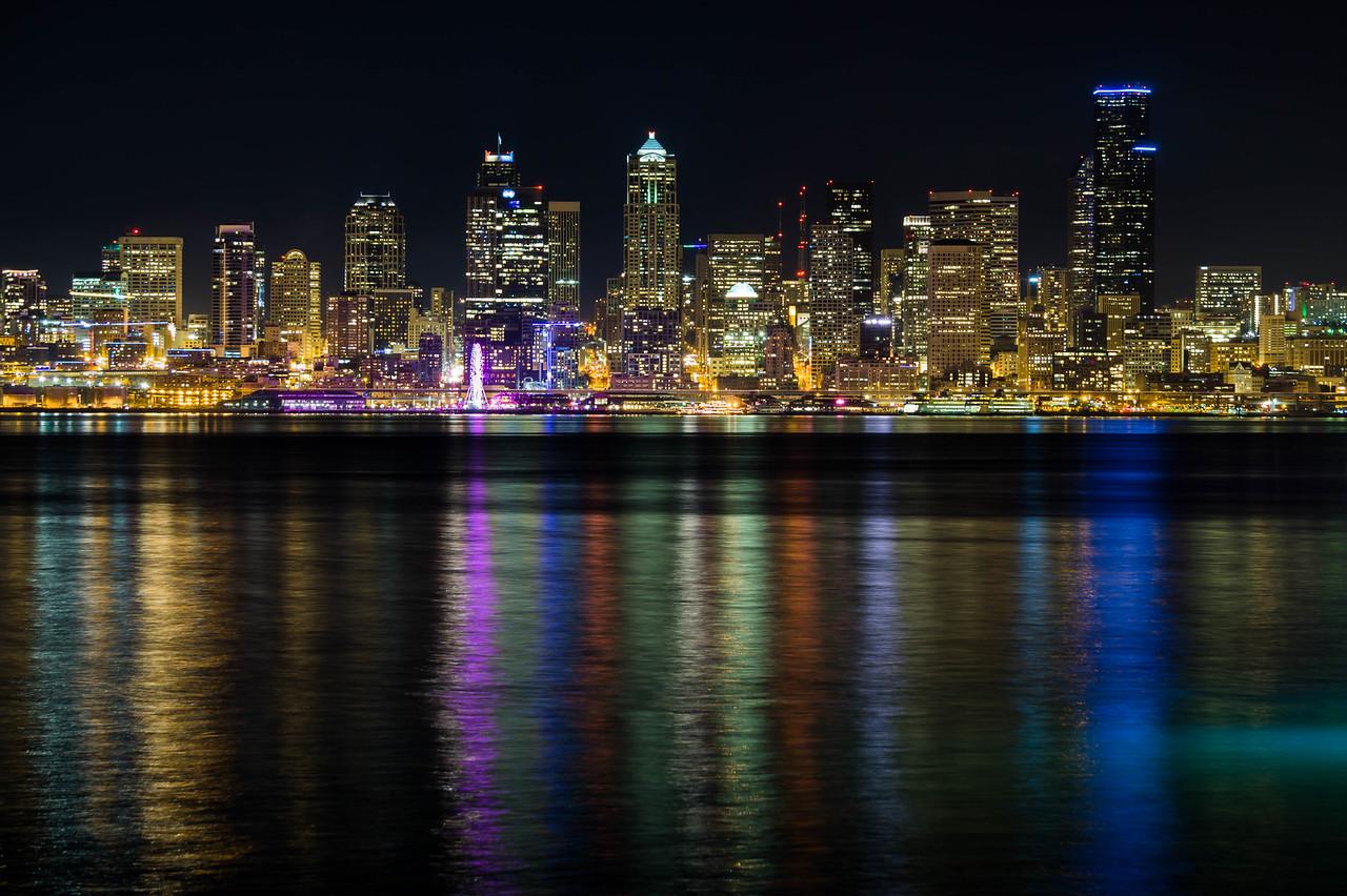 Seattle across the Elliot Bay