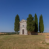 Chapel in Val d'Orcia, Tuscany