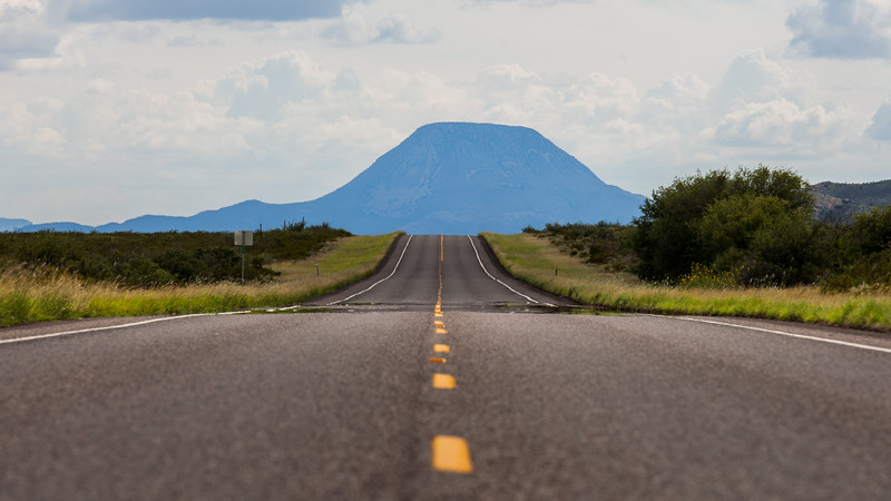 All roads lead to a cinder cone