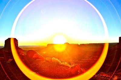 Monumental Lens Flare