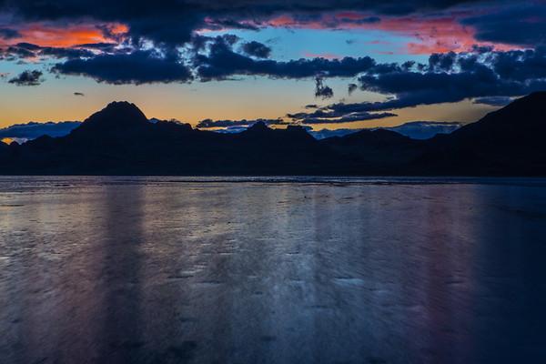 Salt Flats Sunset