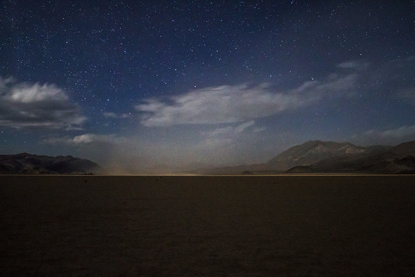 Dust Storm at Racetrack Playa