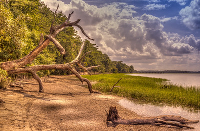 Hilton Head Inlet, South Carolina.