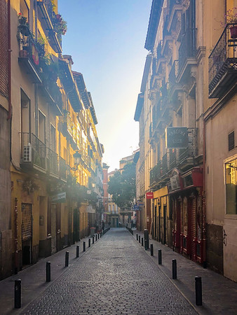 Calles del viejo madrid