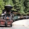 Sugar Pine Railroad, just south of Yosemite National Park, USA