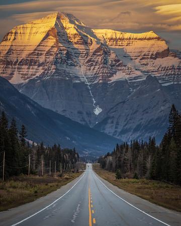 Mt Robson Sunset