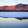 Mount Chocorua Winter Reflection