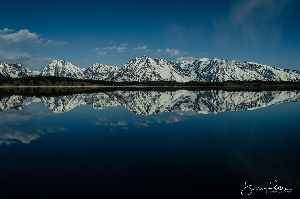 Jackson Lake, Moose Wyoming