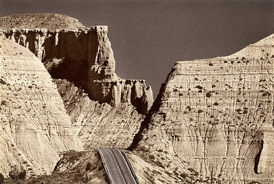 Road to Cannonville, Utah