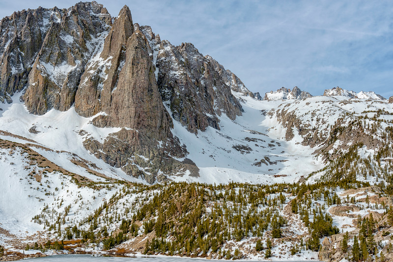 Second Lake and Temple Crag - John Muir Wilderness-6