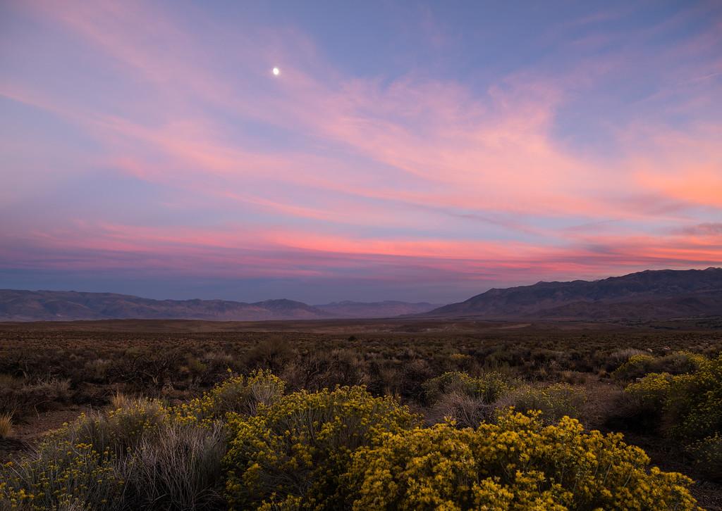 Owens Valley Sunset