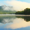 Morning Reflections on Lake Chocorua, New Hampshire