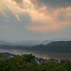 Luang Pabang at sunset