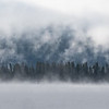 Colorado Lake and Forest Mist