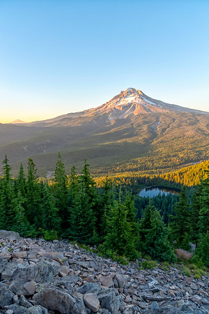 Mount Hood Sunset - Tom Dick and Harry Mountain-3