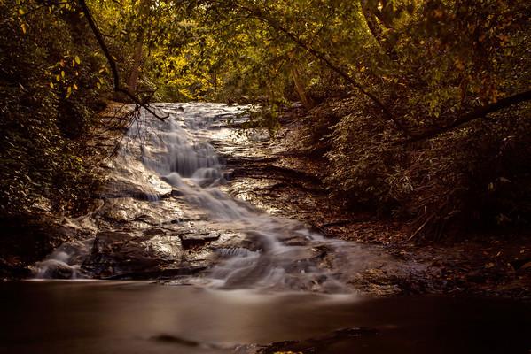 Lower Helton Falls in Georgia.