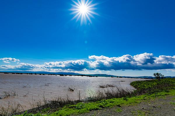 Frazier Lake & Sun Star Burst