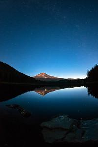 Mount Hood Stars Fish Eye - Mount Hood-4