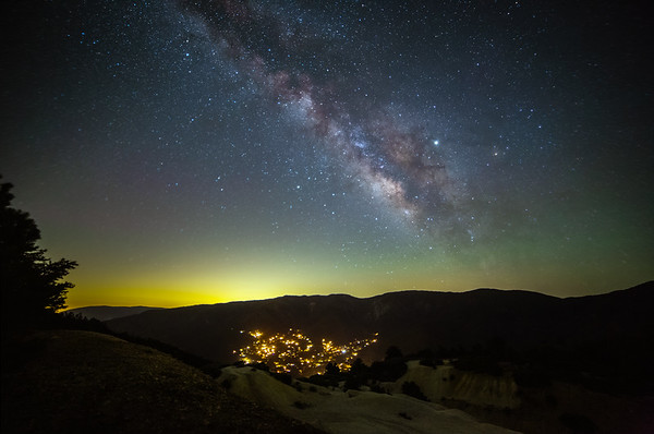 Milky Way over PMC