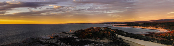 Red Bluff, Kalbarri, panorama