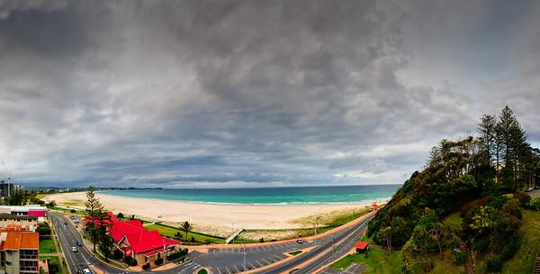 Kirra Beach Pano