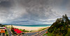 Kirra Beach Pano : Surfer's Paradise in the background