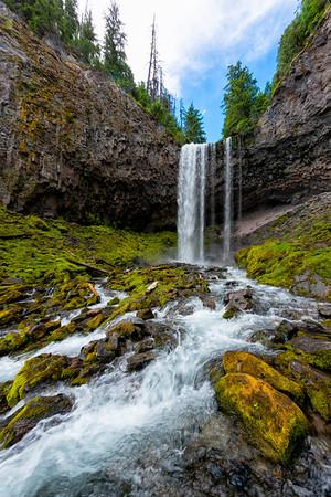 Tamanawas Falls Fish Eye - Mount Hood-12